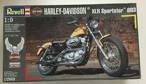 1-9-Revell-Harley-Davidson-Modellbausatz-XLH-Sportster-883-Neu