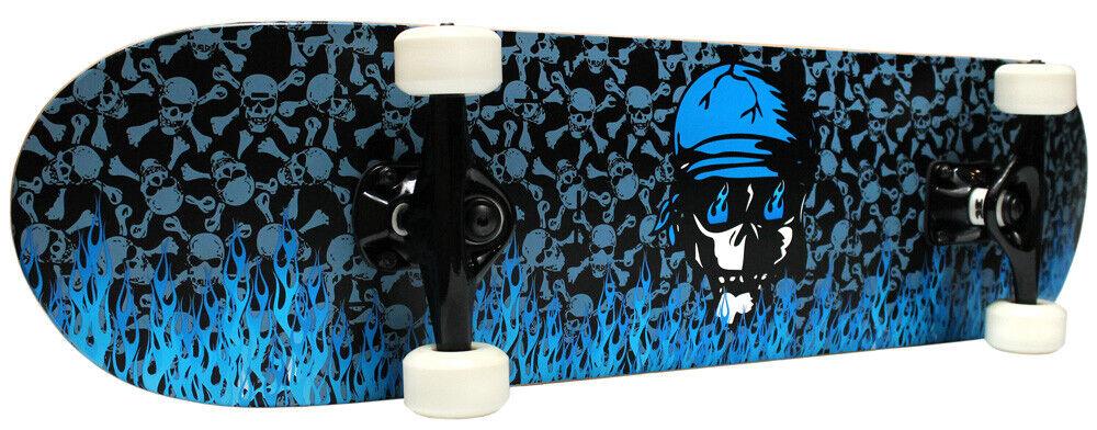 Pro Patineta Completa Krown llama azul  7.75 in (approx. 19.68 cm)  envío rápido en todo el mundo
