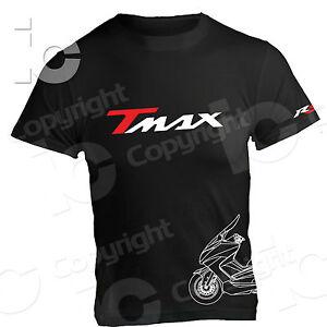 T-Shirt-Yamaha-TMAX-Maxi-Scooter-500-530-560-R5-Racing-Pista-Strada-maglia