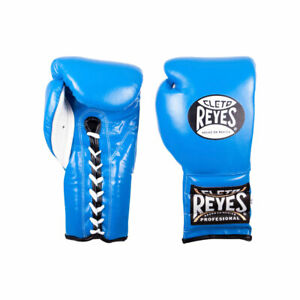 Cleto Reyes Leather 12 Ozs Black Laces Boxing Gloves Original  Made in Mexico