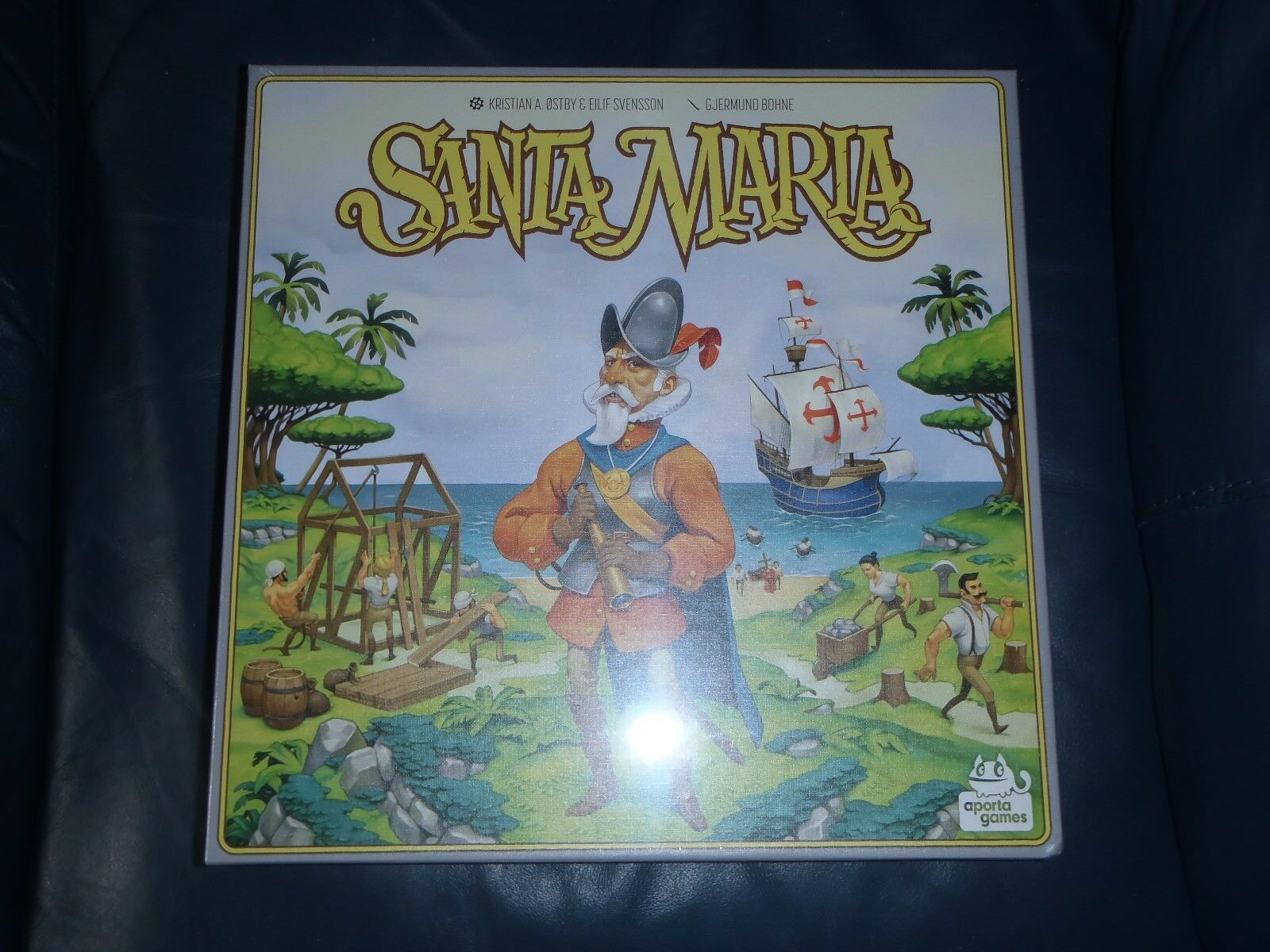 Aporta SANTA MARIA Board Game  NEW + SEALED
