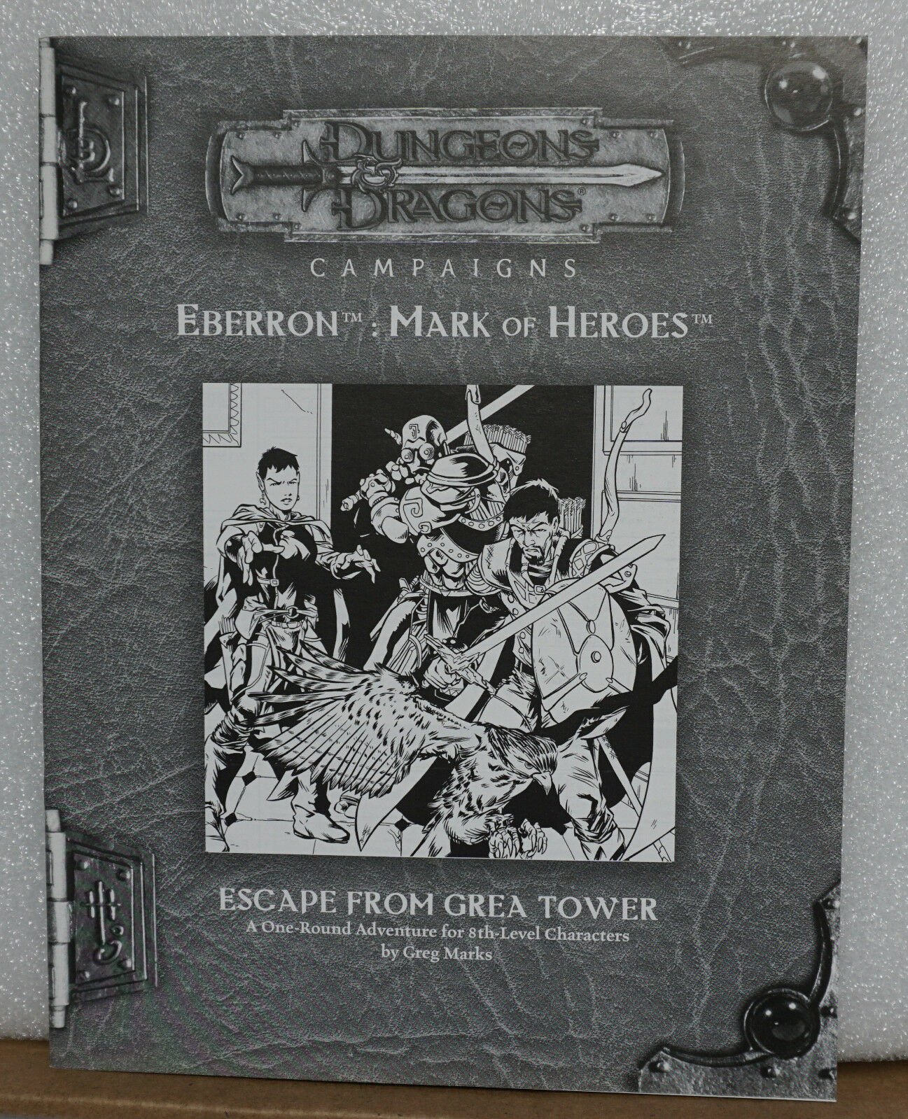 Dungeons & Dragons Campaigns Eberron Mark of Heroes Escaape from Grea Tower