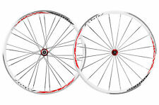 NEW MICHE Race 707 Road Wheelset Campagnolo Freehub RRP £181.99 White