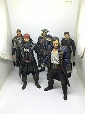 MCFARLANE ASSASSIN'S CREED LOT EDWARD  KENWAY Black Beard Walking Dead