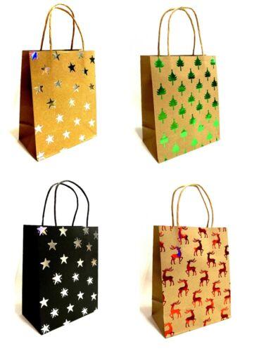 120 Geschenktüten Weihnachtstüten Geschenkbeutel B18 x H23 x T10cm// BP47015