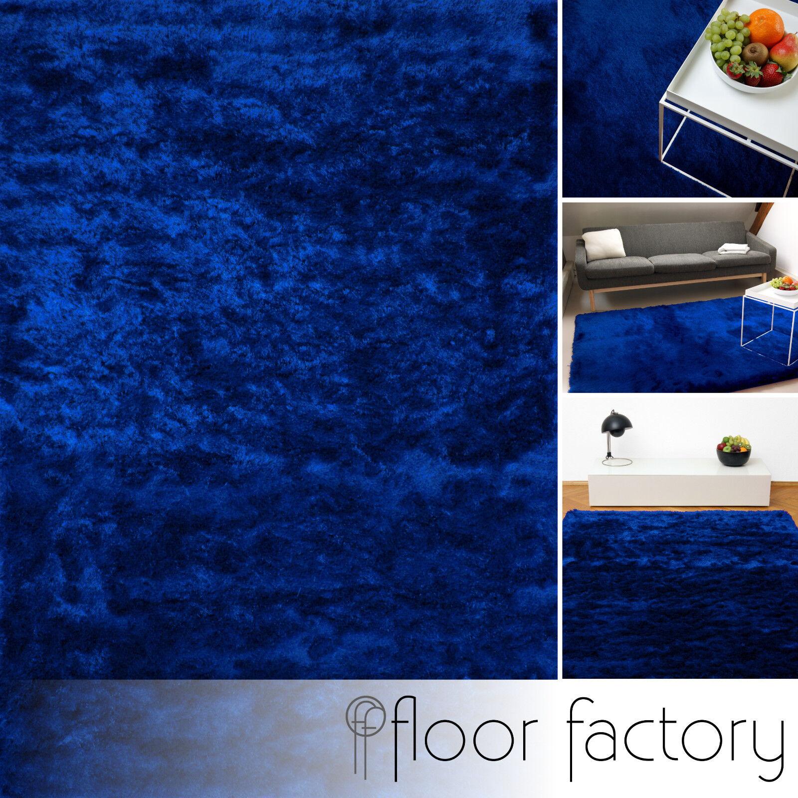 Exklusiver Hochflor Shaggy Teppich Satin Luxus Edition Edition Edition bf8011