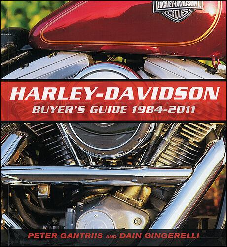 1984-2011 Harley Davidson Acquirenti Guida - Softail Fat Boy Sportster Electra
