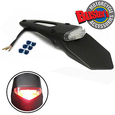 Motorcycle LED Stop & Rear Tail Light for Enduro Trials Trailbikes DRZ XR400