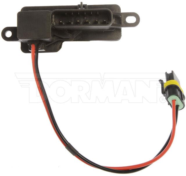 HVAC Blower Motor Resistor Front Dorman 973-006
