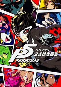Persona-5-Official-Setting-Art-Book-Japan-Anime-NEW