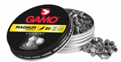 GAMO MAGNUM energy country 5,5 mm 22 piombini 1g 250 PZ