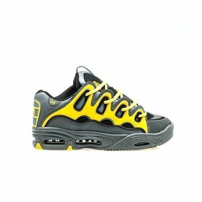 Charcoal//Yellow Osiris D3 2001 Shoes