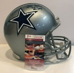 30c53c84c35 Image is loading MICHAEL-IRVIN-SIGNED-INSCRIBED-DALLAS-COWBOYS-FULL-SIZE-