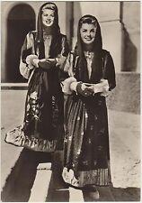 COSTUMI SARDI - OLIENA (NUORO) 1954