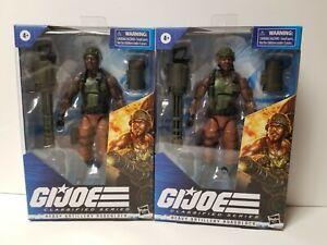 * IN HAND* Hasbro G.I. Joe Classified Series Heavy Artillery Roadblock