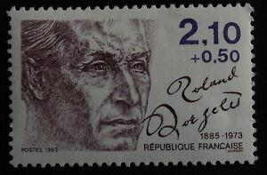 TIMBRE poste. France. n°2357 Personnages célèbres Roland d'Argelès . année 1985