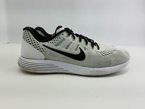 2017 Nike Lunarglide 8 Men s Shoes White Black Oreo Running QS ... bd10d0fdf735