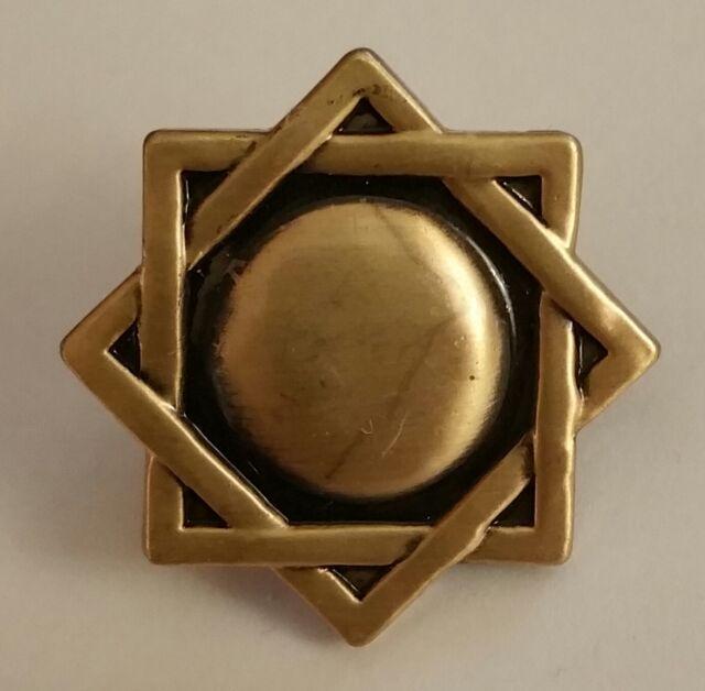 S Melchizedek Priesthood Symbol Antique Pin Mormon Lds Ebay