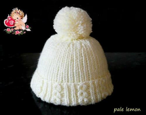 Handmade Baby Bobble Hats