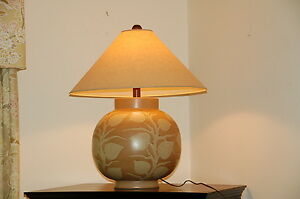 Huge Table Lamp 26 Tall 45