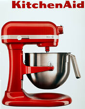 Kitchen Aid Teig-Knet-Küchenmaschine 5KSM7591XEER Heavy Duty 6,9 L,500 Watt,Rot