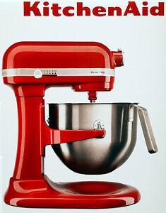 Kitchen Aid Teig Knet Kuchenmaschine 5ksm7591xeer Heavy Duty 6 9 L