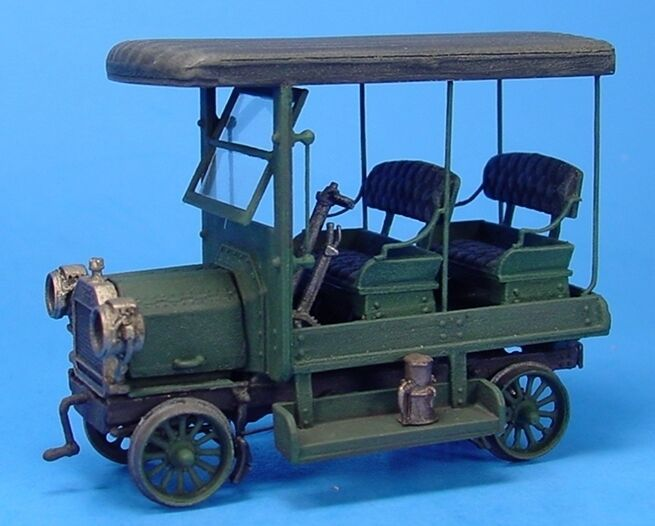 On3/On30 WISEMAN RIO GRANDE SOUTHERN MODEL T FORD INSPECTION CAR  1 KIT S.S.LTD.