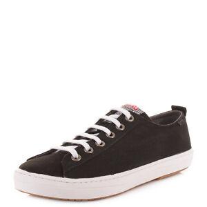 12f72484 Zapatos Cordones Para Camper Hombre Con Toffee Negro Casuales Imar xFBU8qwF