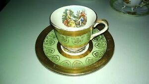 LOVELY-HOMER-LAUGHLINE-EGGSHELL-TEA-CUP-AND-SAUCER-SET-COLONIAL-DESIGN