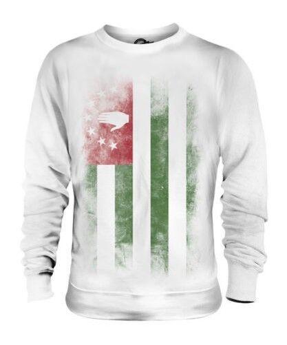 ABKHAZIA FADED FLAG UNISEX SWEATER TOP APSNY ABKHAZ ABKHAZIYA ABKHAZIAN
