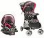 Travel-System-Baby-Girl-Lightweight-Infant-Car-Seat-Stroller-Combo-Black-NEW thumbnail 1