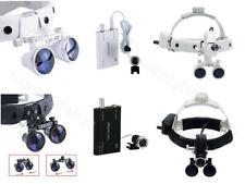 Dental Surgical Medical Headband Loupe 35x 420 Magnifier Amp Led Head Light Lamp