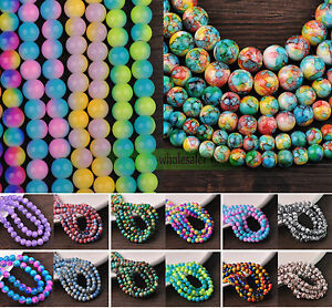 Wholesale-Bulk-Charms-6mm-8mm-10mm-12mm-Round-Glass-Loose-Spacer-Beads-Findings