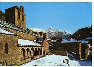 Postal-Caralps-Gerona-Iglesia-Romanica-siglo-X