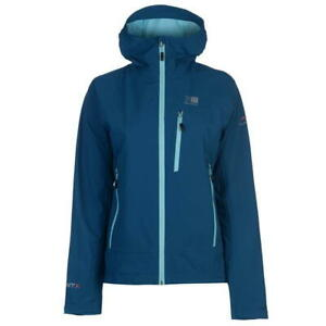 Image is loading Karrimor-Argon-Jacket-Full-Zip-Hooded-Womens-Waterproof- 14cc2e45ad4