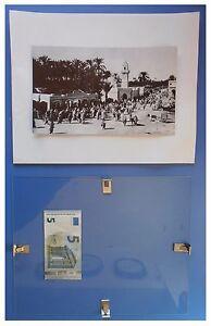 Tripoli-panorama-Libia-colonia-italiana-duce-fascismo-quadro-cornice-vetro