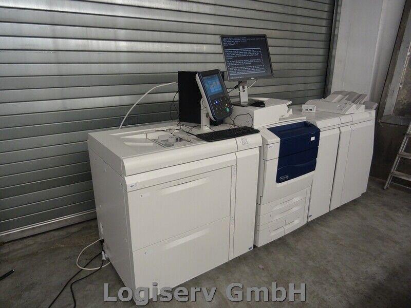 Bild 2 - Xerox Colour 550/560 Produktionsdrucker Digitaldrucksystem Druckmaschine Drucker