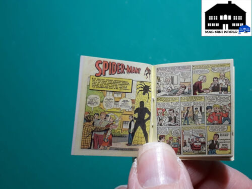Amazin Fantasy #15,1//12 scale Spiderman #0 1962 Comic reproduction