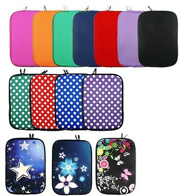 "New Stylish Neoprene Case - Cover Sleeve for various  8""  Tablets with Stylus.."