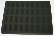 36 x Infantry Troops Models Figure Foam Tray Case Insert for Games Workshop Case