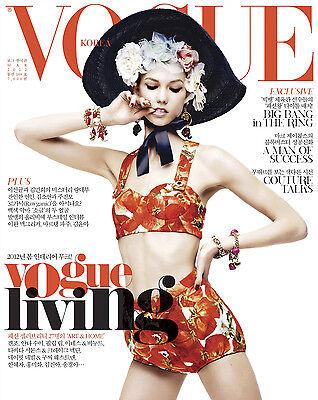 VOGUE Korea #188 03/2012 KARLIE KLOSS Gisele Bundchen HYE PARK Gisele Bundchen