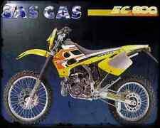 Gas Gas Ec 300 99 A4 Metal Sign Motorbike Vintage Aged