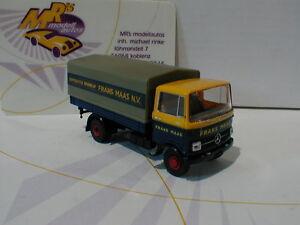 Brekina-48564-MB-LP-608-Baujahr-1959-034-Frans-Maas-N-V-NL-034-in-blau-gelb-1-87