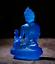 12CM-Tibet-Tibetan-Buddhism-Resin-Lotus-Shakyamuni-Menla-Medicine-Buddha-Statue thumbnail 3