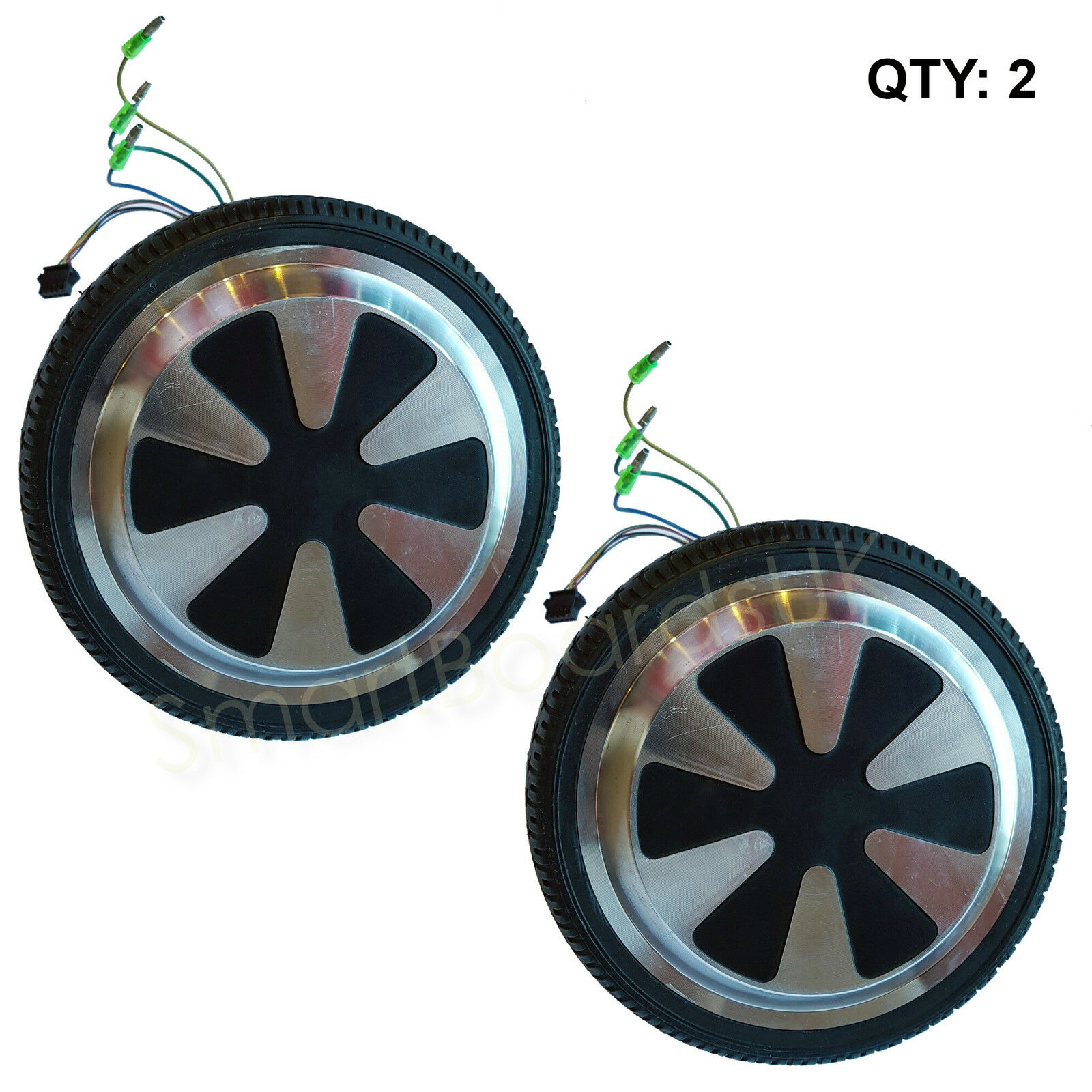 PAIR - Wheel   Motor for 6.5 Inch Hoverboard Parts, Sweg, Self Balance NEW