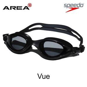 Speedo-V-Class-VUE-Goggles-BLACK-Racing-Swimming-Goggles-Triathlon-Goggles