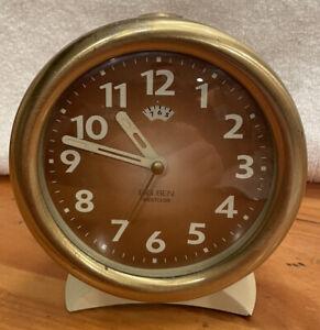 "Vintage Big Ben Westclox Alarm Clock -5"""