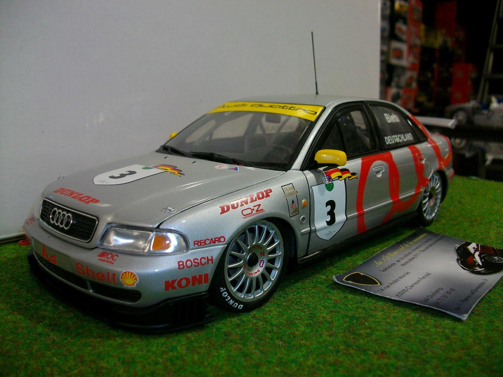 AUDI A4 STW Touring Car World Champion 1995 DTM 1 18 UT Models voiture miniatu