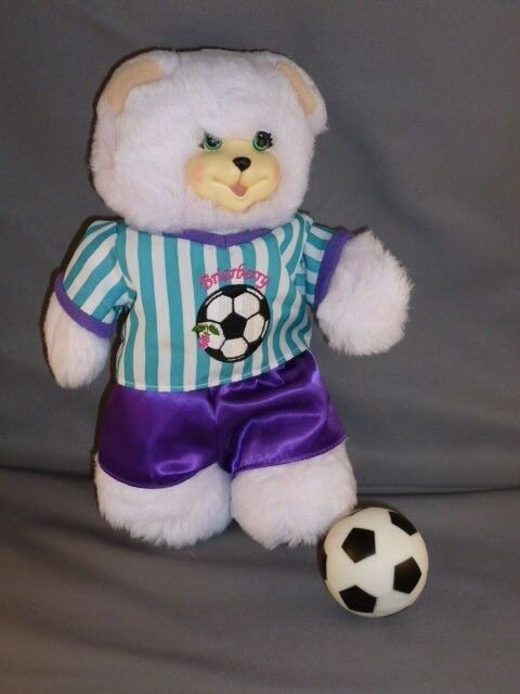 Fisher Price Briarberry BerryNicole bear Nicole Soccer fut-ball football htf