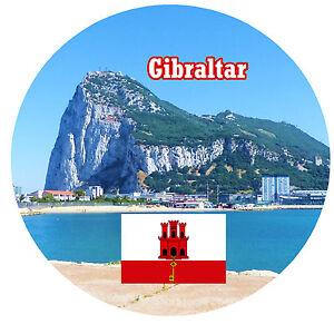 Gibraltar Sehenswurdigkeiten Karte.Details Zu Gibraltar Souvenir Neuheit Rund Kuhlschrank Magnet Sehenswurdigkeiten